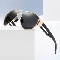 Fashion Polarized Aviator Sunglasses for Men Classic Mirrored Lens UV 400 Protection