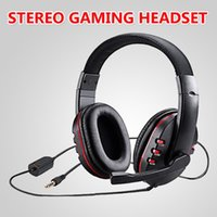 Headphones & Earphones Stereo Gaming Headset For Xbox One PS4 PC 3.5mm Wired Over-Head Gamer Headphone With Microphone Volume Control Game E