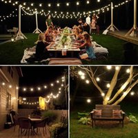 Solar Lamps Family Party Decoration Wedding String Lights Powered Christmas Garden Lamp Outdoor Waterproof
