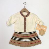 Trendy Toddler Kız Elbise Bahar Tasarımcısı Yenidoğan Bebek Sevimli Giysiler Küçük Kızlar Kıyafet Bezi için
