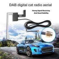 3m antena Cable Dab SMB SMA Cars Digital Active Antena para Rádio TV Receptor Caixa Auto Carro FM Aerial Forte Sinal Estável