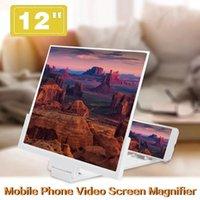 Portable universel 3D Video Amplificateur Smartphone Smartphone Loupe 12 pouces HD Zoom Ajustez les détenteurs de téléphones portables