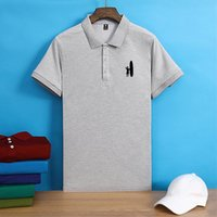 Men's Polos Johnnie-O 2021 Solid Color Mens Shirts Cotton Short Sleeve Casual Hommes Fashion Summer Lapel Male Tops