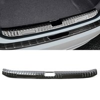 Car Accessories Sticker Stainless Trunk Door Tail Gate Pad Fender Bumper Plate Trim Cover Frame for Honda Accord 10th 2018-2020