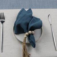 مناديل عشاء الصديقة الجلدية، النمط الكلاسيكي المطبخ منشفة الشاي الناعمة، غرفة الطعام قابل للغسل reusable أدوات المائدة القماش تحديد الموقع الجدول منديل