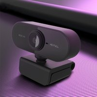 Webcams HD 1080P Webcam Computer USB Work For PC Web Camera Mini Cam Rotatable Cameras Live Broadcast Video Streaming