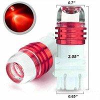 2 шт. 1000k 3157 Светодиодный стробоскоп лампочки для лампочки Flash Stop Car тормозной хвост Красные внешние аксессуары Аварийные огни