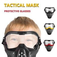 Safe Tactical Mask New Version Protective Glasses for Nerf Rival Apollo Zeus Atlas Toy Gun Game Outdoor Protection