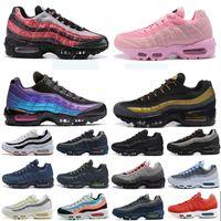 Zapatillas para correr para hombre entrenadores Triple Blanco Blanco Mundo Neón Neón Aqua Universidad Azul TT Criado Mujeres Chaussures Deporte al aire libre Zapatillas deportivas