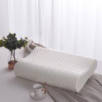 مريح كونتور وسادة رغوة الذاكرة، وسادة السرير الأساسية للجانب، الظهر، نائمين المعدة - الملكة، وسادة قابل للغسل 201212 956 R2
