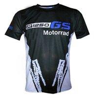 F1 T Shirts Competición Audiencia Camiseta R1250GS Motocicleta Aventura Motos Motos Locomotora Montar Secado rápido Manga corta BMW Motorrad Motocross Team Tshirts E6JK