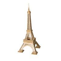 DIY Eiffelturm Montage Gebäude Modell Spielzeug 3D Holz Puzzle Spielzeug Für Unisex Kinder Kinder Urlaub Geschenke Erwachsene Freunde
