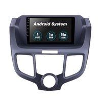 자동차 DVD 라디오 플레이어 GPS 9 인치 안 드 로이드 10 시스템 Honda Odyssey 2004-2008 용 멀티미디어 헤드 유닛