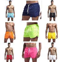 Men's Swimwear Pocket Swimming Shorts For Men Man Swimsuit Swim Trunks Summer Bathing Beach Wear Surf Short Board Pants Boxer