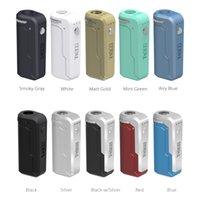 Autêntica Yocan Uni Box Mod 650mAh E-Cigarette Kits Bateria Pré-aqueça VAZ VAZ VAZ VAZ MODS com adaptador de rosca magnética 510 para cartuchos de óleo grosso