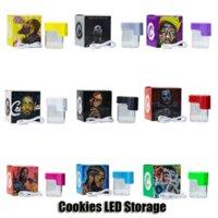 Cookies LED-Glühenaufbewahrungglas-Lupe-Stash 155ml MAG Glühende Behälter-Vakuumflasche für trockene Herb-Tabak-Gummies essbar