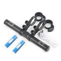 Bike Handlebars &Components Handlebar Extender USB Recharge Phone Holder Bicycle Lamp Clamp Handle Grip Extension Rack For MTB Road