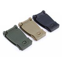 5 шт. / Лот 30 мм Molle Break Break Tactical Backpack Bag Соединительная пряжка Clip Carabiner CLASP EDCN 541 x2