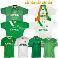 Irland Retro Fussball Jerseys 1988 1990 1992 1994 1995 1996 1990-92 1988-90 1994-96 Auswärts 88 90 92 94 95 96 Klassische Vintage Keane Irische Uniformen Kits Football Hemden