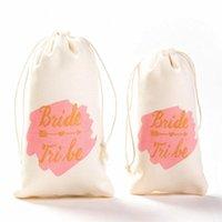 Party Decoration 5 10pcs Hen Bride Tribe Gift Bag Team To Be Wedding Bridesmaid Bags Bachelorette Decoratian Bridal Shower