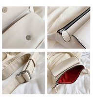 Women Chest Packs PU Leather Luxury Designer Womens Fanny Pack High Quality Waist Bag Shoulder Crossbody Bag Female Belt Bag