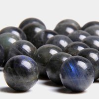 جودة عالية الحجر الطيفي الطبيعي الخرز الأسود جولة السلس اللابرادوريت فضفاض جوهرة الخرز للمجوهرات صنع سوار هدية