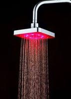 ¡Los accesorios de ducha LED multicolor y cuarto de baño se pueden cambiar libremente! CAMBIO DE COLOR DE CICLO DE LUCES COLORIDAS, MEJORÁTICO PRÁCTICA
