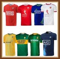 2021 GAA Kerry Tyrone Mayo Jerseys Cork Meath Galway Dublin Ath Cliath Gaillimh Tipperary Ciobraio Arann Rugby Gömlek