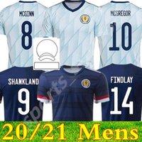 Scotland Soccer Jerseys Home 2021 2022 Away قميص روبرتسون Fraser Football Naismith McGregor Christie Forrest Mcginn Men + Kids