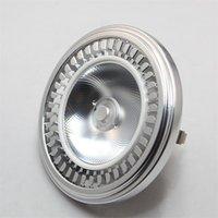 Ampoules 15W CREE LED AR111 G53 GU10 AC110V-240V / DC12V COB Spot Light Remplacer 150W halogène.warm blanc froid