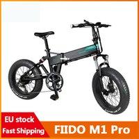 [Stock] Fiido M1 Pro Electric Bike 20 Zoll Fettreifen 48 V 500 Watt Falten Moped Fahrrad 50 km / h Höchstgeschwindigkeit 130km Kilometerraum