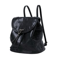 Backpacks For Women 2020 Fashion Large Capacity Leisure Travel Backpack female High Quality PU Leather Bags Student Soft Bagpack C0508
