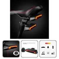 Bike Lights Wear-resistant 1 Set Portable Accessory Rear Wireless Remote Control For Bicycle