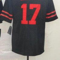 Professional Custom Jerseys SF 17 19 21 22 25 26 28 shirts Embroidered All Colors Mens American Football Jersey a6