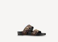2021 Pantofole Designer New R Slift di lusso r Salenti di gomma estiva Sandali in gomma Spiaggia Scivola di moda Scuffs Pantofole Scarpe da interno taglia 35-45