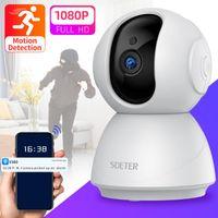 Cameras 1080P Wireless Camera WIFI Video Surveillance CCTV Night Vision Baby Monitor Motion Alarm Cloud P2P 720P Mini Cam