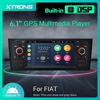 "6.1 ""Android 10.0 HD 디지털 터치 스크린 자동차 DVD 플레이어 Punto 199 310 2005-2009 Linea 323 2007 - 2011 라디오 GPS"