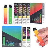 High Quality Puff XXL 1600 Puffs E cigarette Disposable Vape Pen Device Pod Strater Kits Prefilled Vaporizer VS Puffbar Plus Xtra Bang