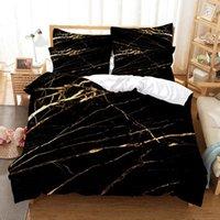 Bedding Sets Marble Pattern Duvet Cover Set 3d Digital Printing Bed Linen Fashion Design Comforter
