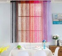 Großhandel reine farbe linear vorhänge eignung layout hochzeitspartei liefert hotelvorhang partition schlafzimmer wohnzimmer vorhang