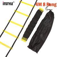 ItStyle 8 rung 12 قدم 4M تدريب كرة القدم 2 ملليمتر m 4 ملليمتر رشيقة درج اللياقة البدنية قدم طاقة حبل سلم wmtbpf xhlove