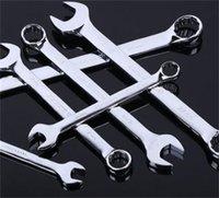 Clé d'action à cliquet flexible Double Tête Tête ouverte Clé de la bague d'extrémité Outils Multi-Spécifications 492 V2