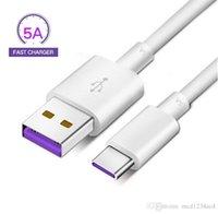 Tipo C MICRO V8 Cable USB 4.5V 5A Cargador de datos Cables de carga rápida para Huawei Mate 9 10 P10 Samsung Galaxy S8 S9 S10 Teléfono Android 1M