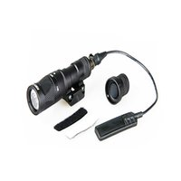 Tactical M300V светло-белый светодиод 400 люменов выходной постоянный стробоскоп дистанционный переключатель фонарик для охоты