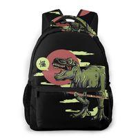 حقيبة الظهر Tyrannosaurus Rex Katana للفتيات بنين Travel Rucksackackpacks حقيبة مدرسية في سن المراهقة