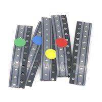 500pcs = 5Colors x 100 pcs 5050 5730 1210 1206 0805 0603 0402 SMD LED Diodo Kit Vermelho / Verde / Azul / Branco