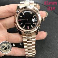 15 цвет высокого качества Waterrooo Cysed Watch 41mm 2813 механический автоматический президент из нержавеющей стали из нержавеющей стачек мода благородный рубин мужские часы классические длинные алмазные наручные часы