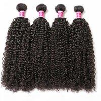 ZhiFan 100% Brazilian Human Hair Afro Kinky Curly Hair Bulks For African American Women Braiding Extensions