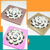 Lotus Plate 10 Pairs Natural Long Eyelashes 3D Fake Mink False Eye Lashes Faux Cils Make Up