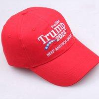도널드 트럼프 2024 야구 모자는 미국 위대한 미국 대통령 선거 모자 조정 가능한 야외 스포츠 트럼프 모자 CYZ3150